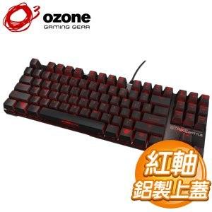 OZONE Strike Battle 紅軸 黑蓋 背光機械式電競鍵盤