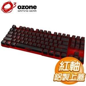 OZONE Strike Battle 紅軸 中文 紅蓋 背光機械式電競鍵盤