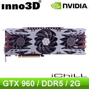 Inno3D iChill  GTX960 2GD5 Ultra PCIE 顯示卡