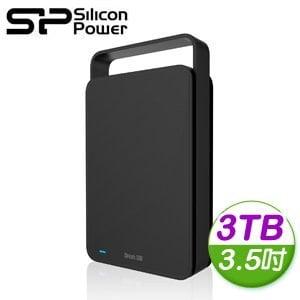 Silicon Power 廣穎 Steam S06 3TB 3.5吋 USB3.0 行動硬碟