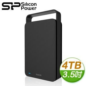 Silicon Power 廣穎 Stream S06 4TB 3.5吋 USB3.1 外接硬碟