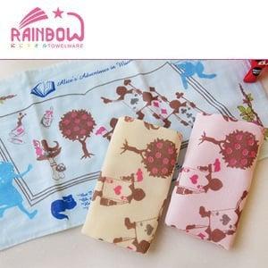 RAINBOW 愛麗絲夢遊淑女巾(3入)