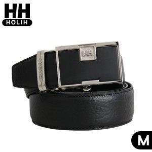 HH牛皮自動皮帶-黑M(4716906084216M)