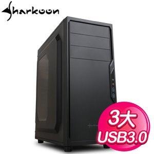 Sharkoon 旋剛 防衛者 VS4-W 黑3大 電腦機殼