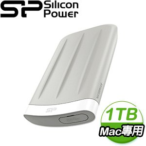 Silicon Power 廣穎 Armor A65M(For Mac) 1TB 2.5吋 USB3.1 外接硬碟
