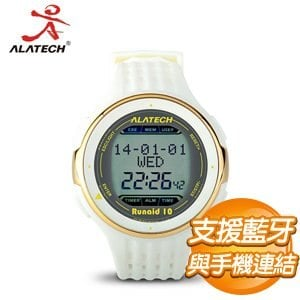 ALATECH Runaid 10 藍牙跑步運動錶《白色》