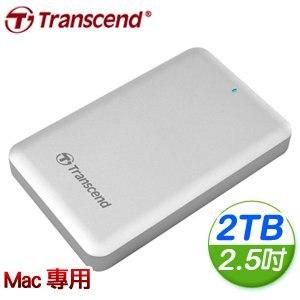 Transcend 創見 StoreJet SJM300 2TB USB3.0 行動硬碟《For Mac》