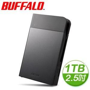 Buffalo 巴比祿 PZFU3 1TB USB3.0 2.5吋 外接硬碟《黑》