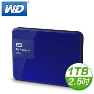WD 威騰 New My Passport Ultra 1TB 2.5吋 USB3.0 外接式硬碟《貴族藍》