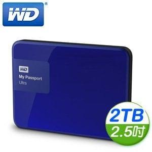 WD 威騰 New My Passport Ultra 2TB 2.5吋 USB3.0 外接式硬碟《貴族藍》