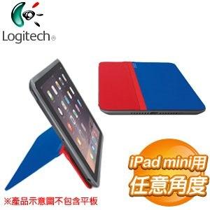 Logitech 羅技 AnyAngle iPad mini 保護殼《藍紅》