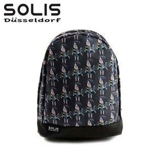 〔SOLIS×鬼太郎〕妖怪父子數位彩印後背包 GE22B03《綠》