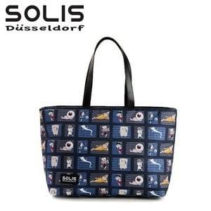 〔SOLIS×鬼太郎〕妖怪樂園數位彩印船型包 GE22B06《藍》
