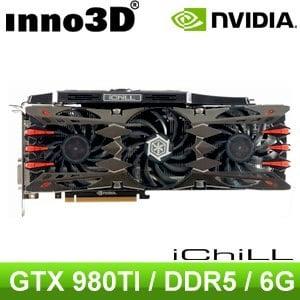 Inno3D iChill GTX980Ti 6GD5X4 PCIE 顯示卡《原廠三年保固》
