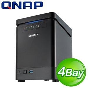 QNAP 威聯通 TS-453 mini-2G版 NAS 網路儲存伺服器《附遙控器》