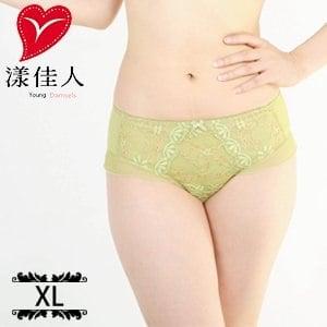 【漾佳人】綠野仙境低腰三角無痕褲 A9413 GN(XL/仲夏綠)