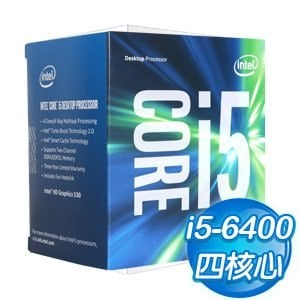 Intel 第六代 Core i5-6400 四核心處理器《2.7Ghz/LGA1151》(代理商貨)