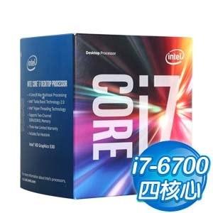 Intel 第六代 Core i7-6700 四核心處理器《3.4Ghz/LGA1151》(代理商貨)