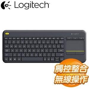 Logitech 羅技 K400 plus 無線觸控板鍵盤