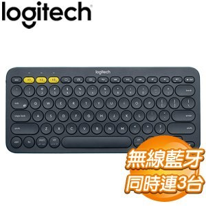 Logitech 羅技 K380 跨平台藍牙鍵盤《黑》
