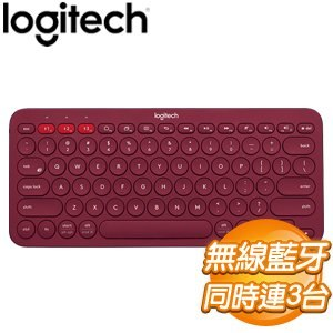 Logitech 羅技 K380 跨平台藍牙鍵盤《紅》