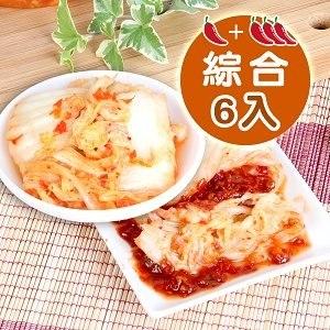 【辣吉】銷魂泡菜-綜合6罐組(600g / 罐)