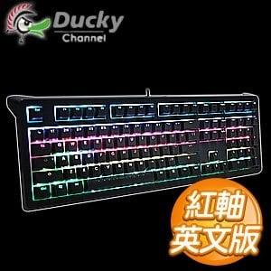 Ducky 創傑 Shine5 RGB 紅軸 英文 全彩 機械式鍵盤