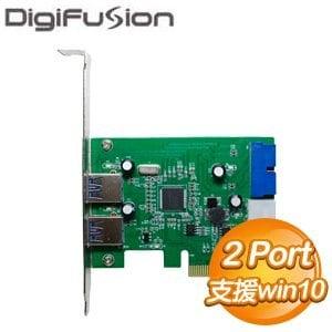 伽利略 USB3.0x2+19pin 擴充卡