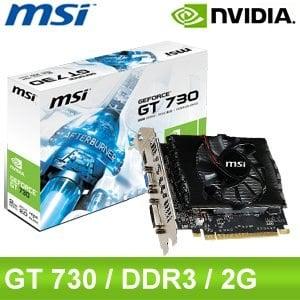 MSI 微星 N730 2GD3 V2 PCIE顯示卡《原廠三年保固》