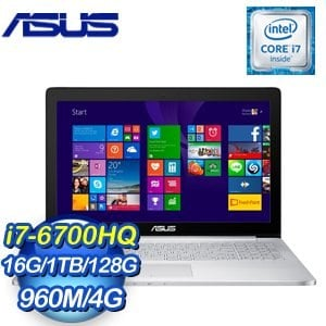 ASUS 華碩 UX501VW-0062A6700HQ i7-6700HQ 1TB 128G SSD GTX960M 4G獨顯筆記型電腦
