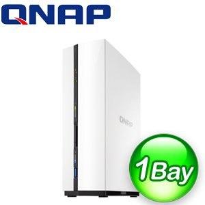 QNAP 威聯通 TS-128 1Bay NAS 網路儲存伺服器