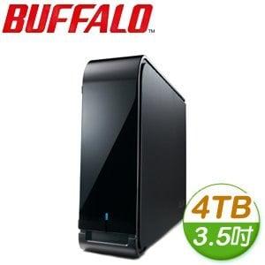 Buffalo 巴比祿 HD-LX 4TB 7200轉 3.5吋硬體加密 USB3.0 外接硬碟