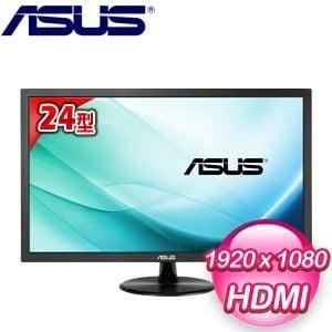ASUS 華碩 VP247H 24型 不閃屏 寬螢幕