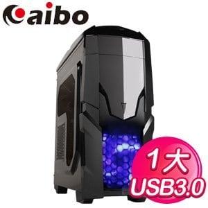 Aibo 立嵐【天行者】ATX電腦機殼《黑》