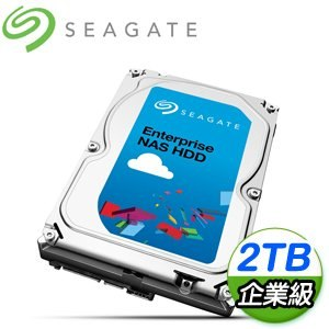 Seagate 希捷 那嘶狼Pro 2TB 7200轉 128MB SATA3 企業級NAS專用硬碟(ST2000VN0001-5Y)
