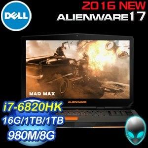 Alienware ALW17ER-4838TW 遊戲專用筆記型電腦