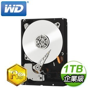 WD 威騰 RE 1TB 3.5吋 7200轉 128M快取 SATA3企業級硬碟(WD1004FBYZ)