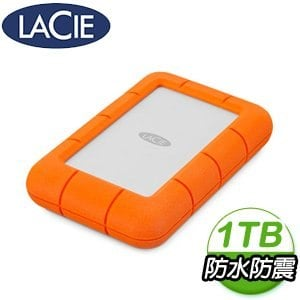 LaCie Rugged Mini 1TB USB3.0 2.5吋行動硬碟