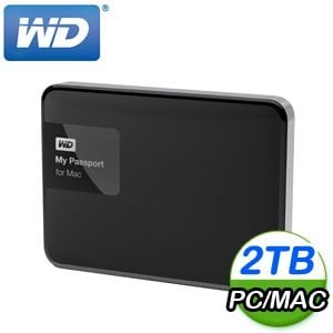 WD 威騰 My Passport for Mac 2TB 2.5吋 USB3.0 行動硬碟