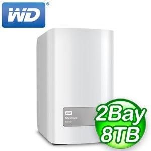 WD 威騰 My Cloud Mirror Gen2  8TB 4TBx2  NAS 儲存