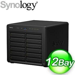 Synology 群暉 DiskStation DS2415+ 12Bay NAS 網路儲存伺服器
