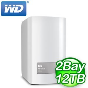 WD 威騰 My Cloud Mirror 12TB(6TBx2) NAS 雲端儲存系統