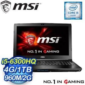 MSI 微星 GL62 6QF~848TW~BB5630H4G1T0S10M 筆記型電腦