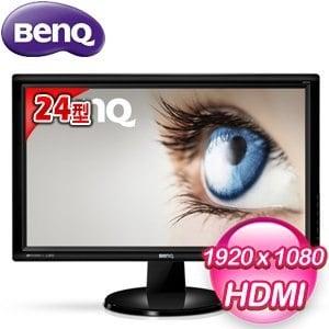 BenQ 明基 GW2455H 24型 不閃屏+低藍光 VA 寬螢幕