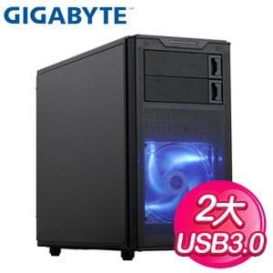 Gigabyte 技嘉 Horus M1 U3黑 2大 電腦機殼