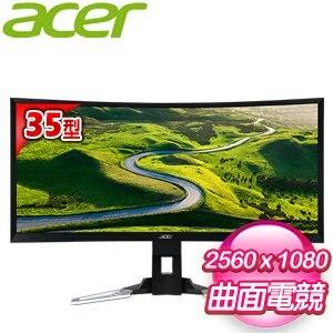 Acer 宏碁 XZ350CU 35型 21:9 VA曲面護眼電競寬螢幕