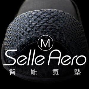 【Selle Aero】低均壓保健智能氣墊室內鞋-露趾款 SP-1207M1(黑/M)