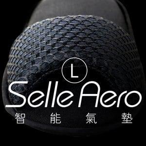 【Selle Aero】低均壓保健智能氣墊室內鞋-露趾款 SP-1207M1(黑/L)