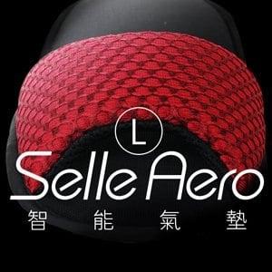 【Selle Aero】低均壓保健智能氣墊室內鞋-露趾款 SP-1207M1(紅/L)