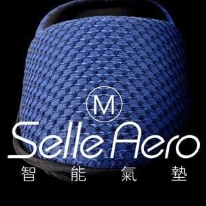 【Selle Aero】低均壓保健智能氣墊室內鞋-護趾款 SP-1208EM1(藍/M)